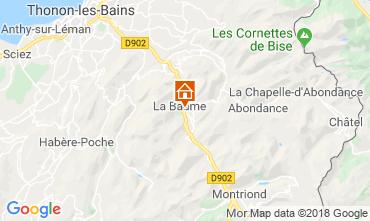 Mapa Saint Jean d'Aulps- La Grande Terche Chalet 59028