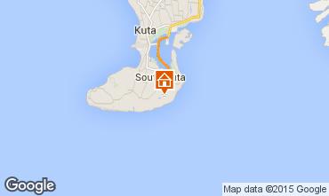 Mapa Nusa Dua Villa 80641