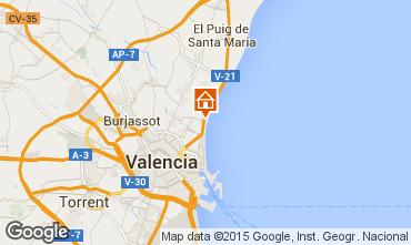 Mapa Valencia Apartamento 39480