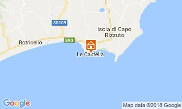 Mapa Le Castella Apartamento 47005
