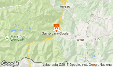 Mapa Saint Lary Soulan Apartamento 69781