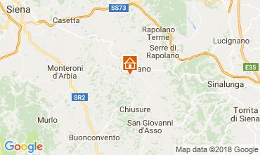Mapa Siena Apartamento 113564