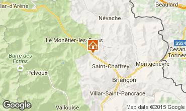 Mapa Serre Chevalier Chalet 57863