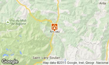 Mapa Saint Lary Soulan Apartamento 74733