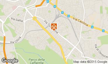 Mapa Roma Apartamento 26345