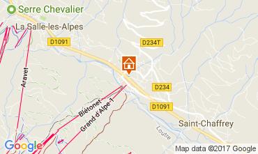 Mapa Serre Chevalier Apartamento 58711