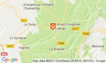 Mapa Gérardmer Chalet 112489