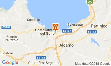 Mapa Castellammare del Golfo Casa 97356