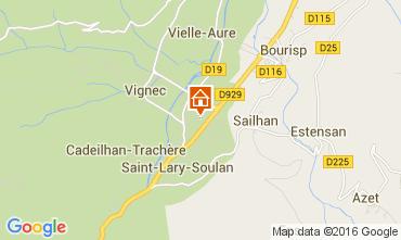 Mapa Saint Lary Soulan Apartamento 105593