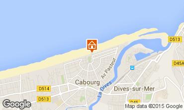 Mapa Cabourg Apartamento 88477