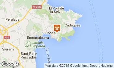 Mapa Rosas Casa 84090