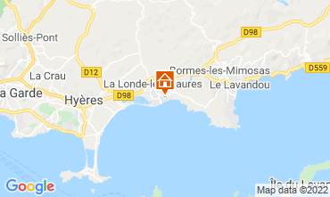 Mapa La Londe les Maures Apartamento 68831