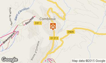 Mapa Combloux Chalet 896