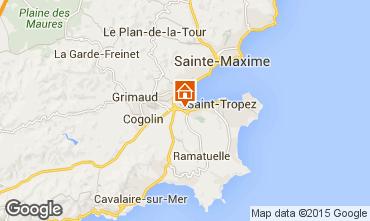 Mapa Saint Tropez Villa 10266