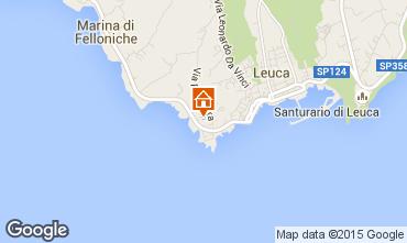 Mapa Santa Maria di Leuca Apartamento 79689