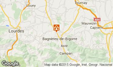 Mapa Bagn�res de Bigorre Apartamento 63632