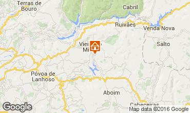 Mapa Vieira do Minho Casa rural 38989