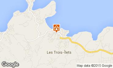 Mapa Trois Ilets Apartamento 100285