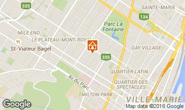 Mapa Montreal Apartamento 102613
