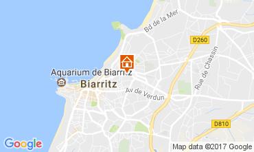 Mapa Biarritz Apartamento 105192