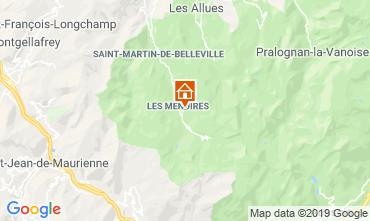 Mapa Les Menuires Estudio 112436