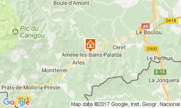 Mapa Amélie-Les-Bains Estudio 112815