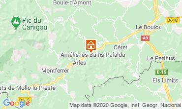 Mapa Am�lie-Les-Bains Estudio 101149
