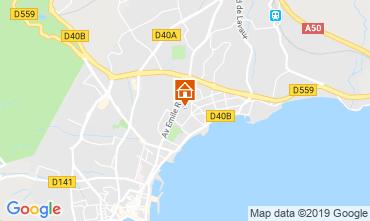 Mapa La Ciotat Villa 110277
