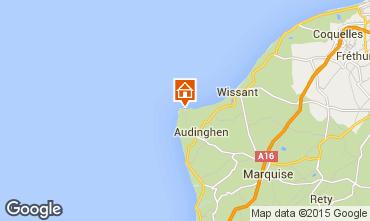 Mapa Audinghen Villa 85072