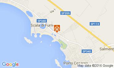 Mapa Porto Cesareo Apartamento 104993