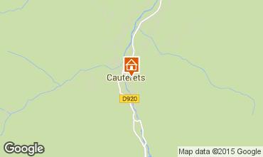 Mapa Cauterets Apartamento 55364