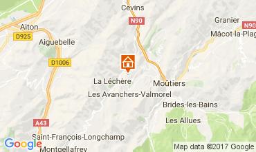 Mapa Valmorel Chalet 111890