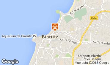 Mapa Biarritz Apartamento 6363