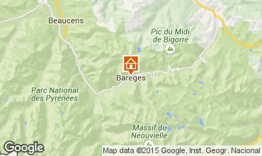 Mapa Barèges Apartamento 101163
