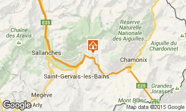 Mapa Chamonix Mont-Blanc Apartamento 689