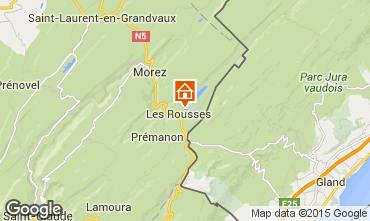 Mapa Les Rousses Apartamento 73967