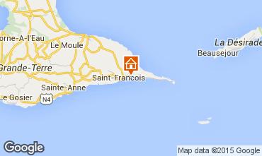 Mapa Saint Francois Villa 8020