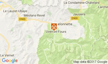 Mapa Barcelonnette Apartamento 112000