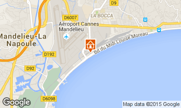 Mapa Cannes Estudio 5505