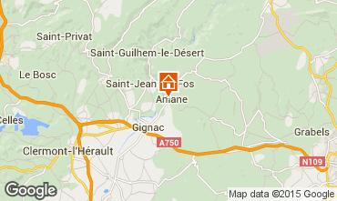 Mapa Saint Guilhem le Désert Casa 28312