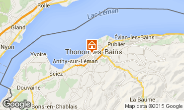 Mapa Thonon Les Bains Apartamento 101933