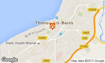 Mapa Thonon Les Bains Apartamento 99094