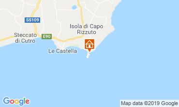 Mapa Isola di Capo Rizzuto Apartamento 118989