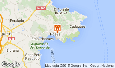 Mapa Rosas Villa 80944