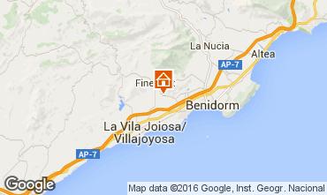 Mapa Benidorm Villa 102368