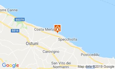 Mapa Ostuni Villa 118210