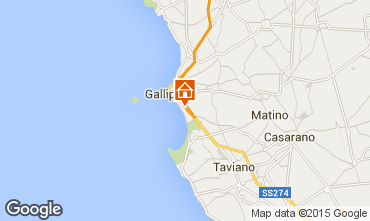 Mapa Gallipoli Apartamento 99290