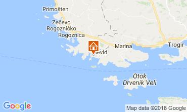Mapa Trogir Casa 114405
