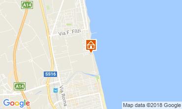 Mapa Alba Adriatica Apartamento 61621