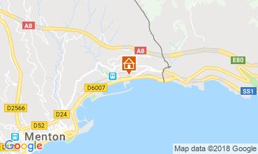 Mapa Menton Apartamento 59052